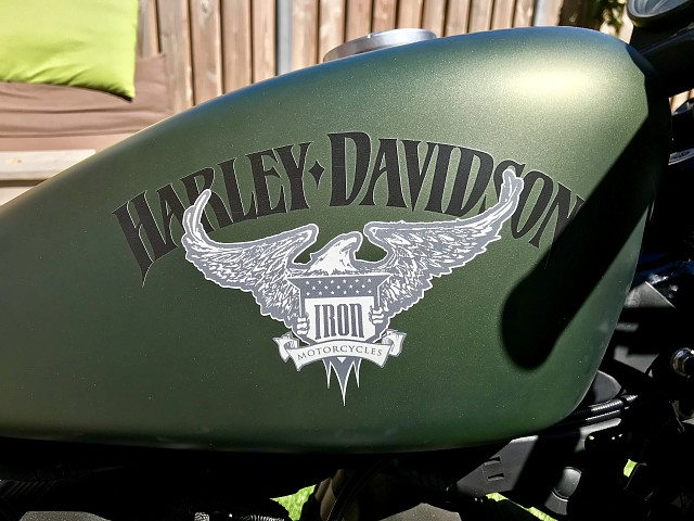 2012 HARLEY-DAVIDSON Iron 883 motor te huur (5)