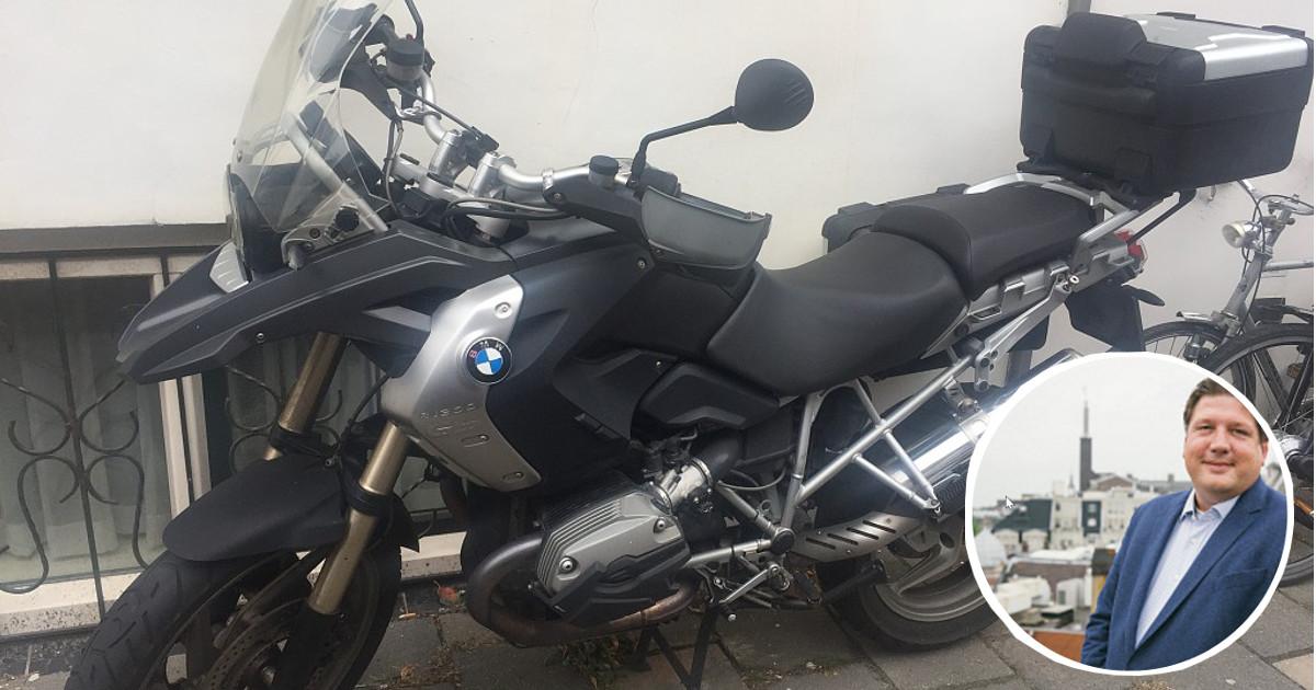 Roel verhuurt zijn BMW GS via MotoShare