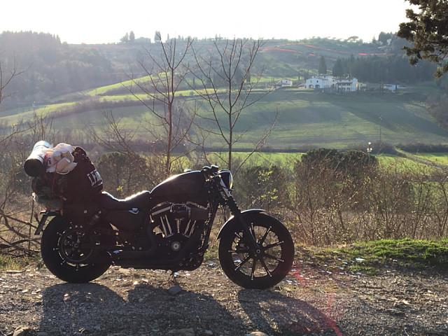 2017 HARLEY-DAVIDSON Iron 883 moto en alquiler (5)
