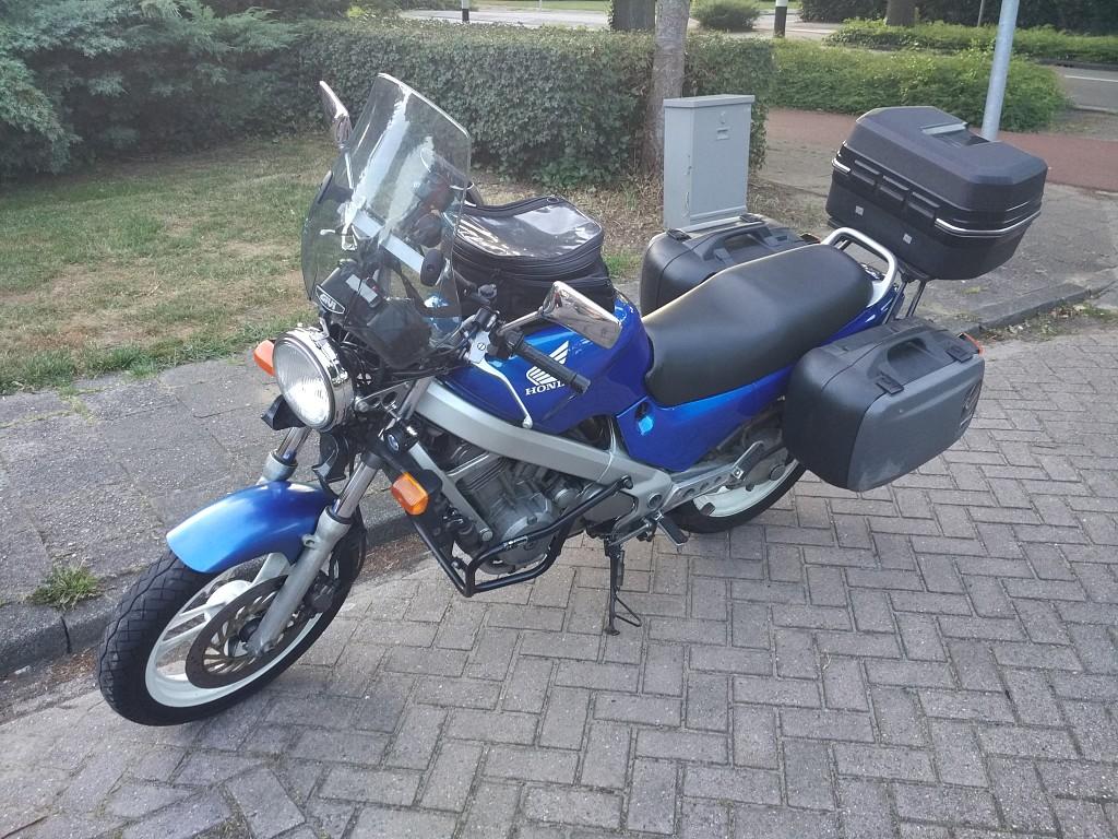 HONDA NTV 650 motor #1