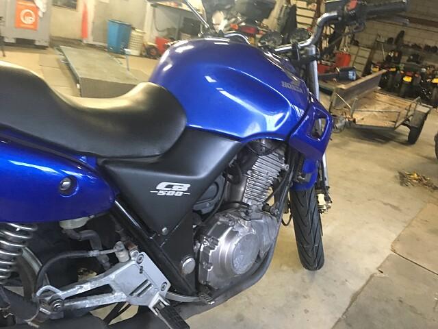 2002 Honda CB 500 motor te huur (4)