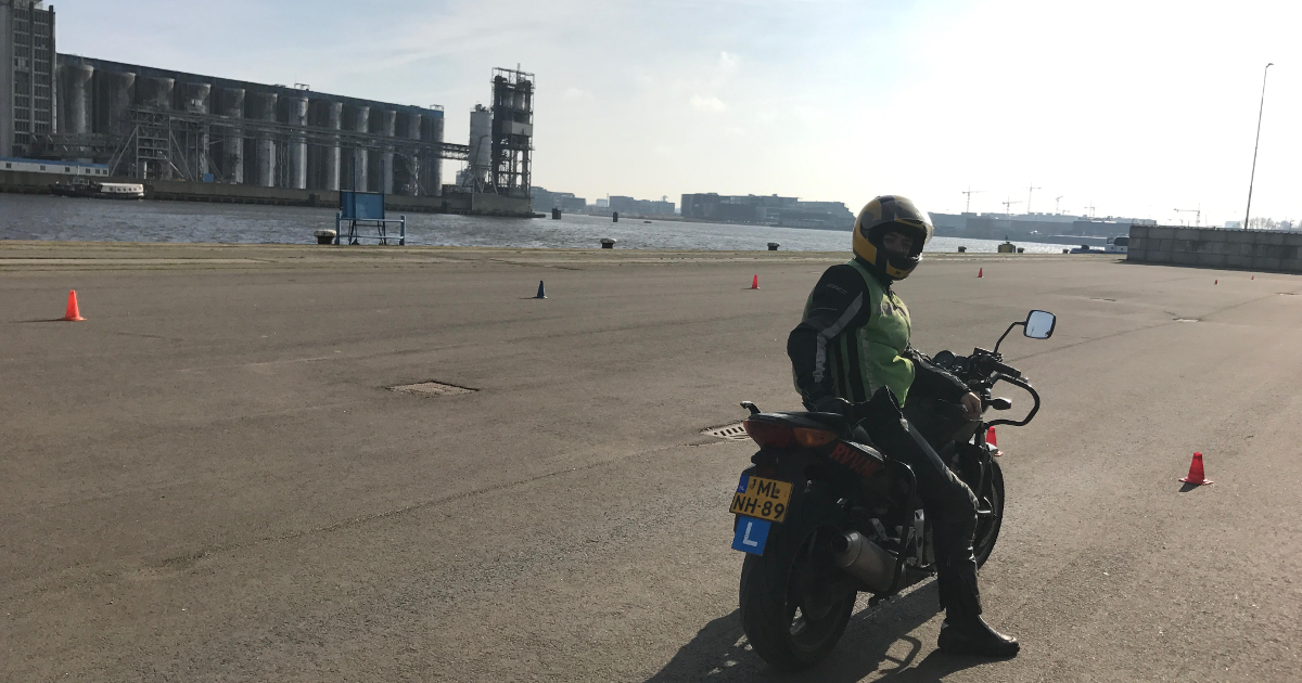 Het motorrijbewijs halen