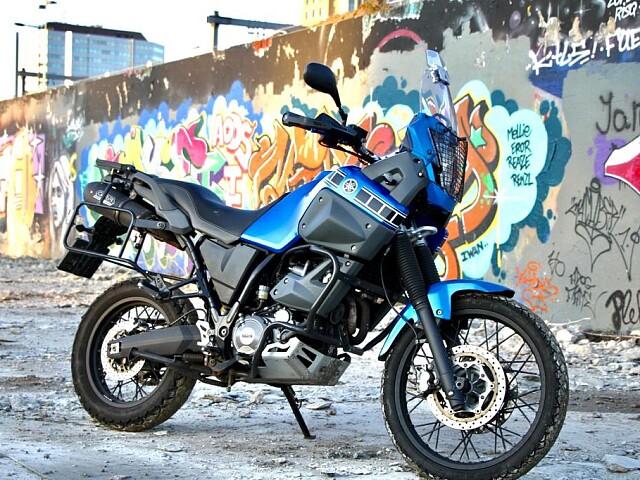 2009 YAMAHA XT 660 Z motor te huur (1)