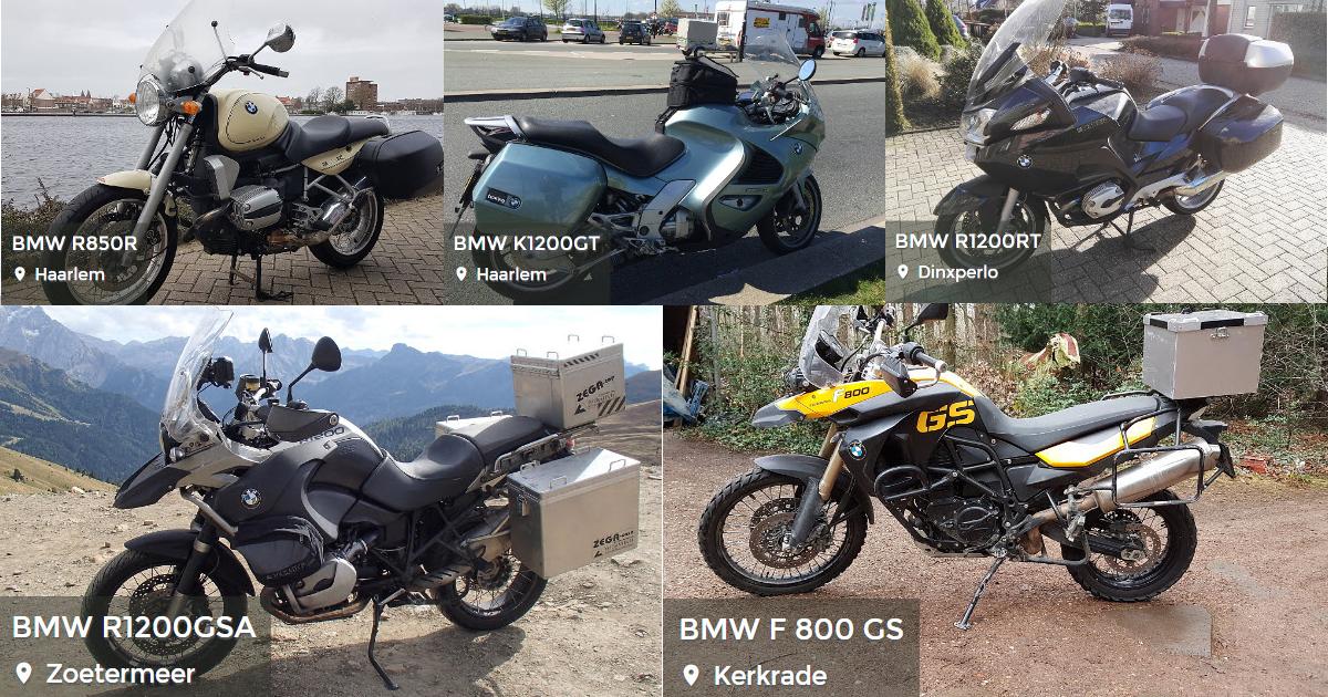 BMW motoren huren MotoShare