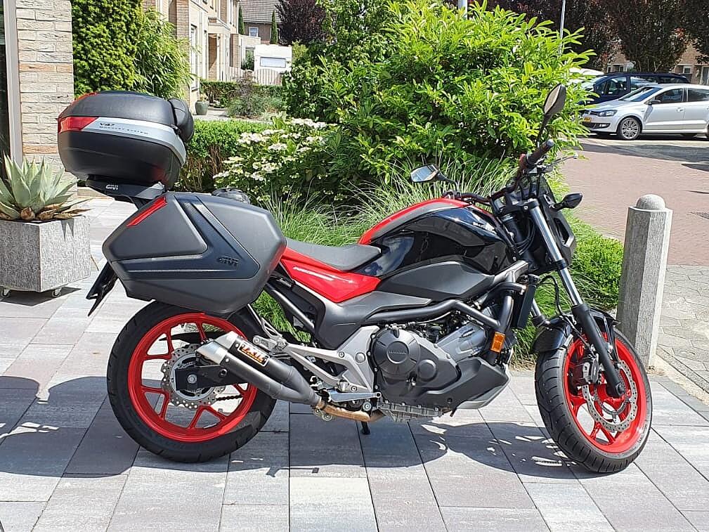 2017 Honda NC750S ABS motor te huur (1)