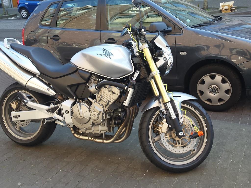 2005 Honda CB 600 F Hornet motor te huur (1)