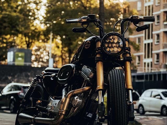 1998 Harley-Davidson 883 Sportster motor te huur (4)