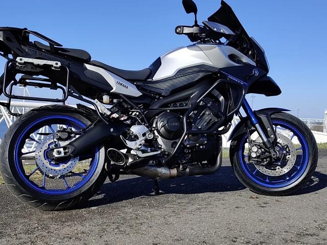 2015 Yamaha MT 09 TRACER motor te huur (2)