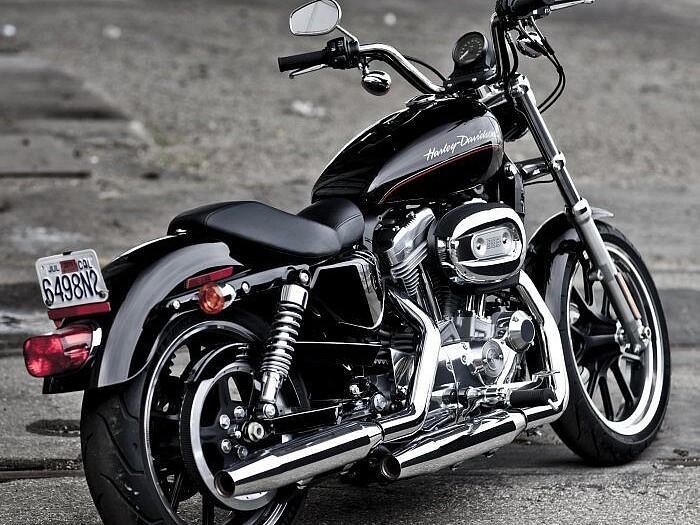 2011 Harley-Davidson Sportster motor te huur (1)