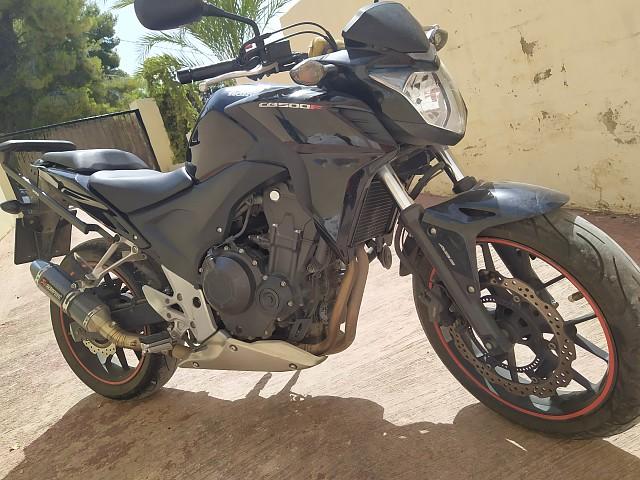 2015 HONDA CB 500 F moto en alquiler (1)