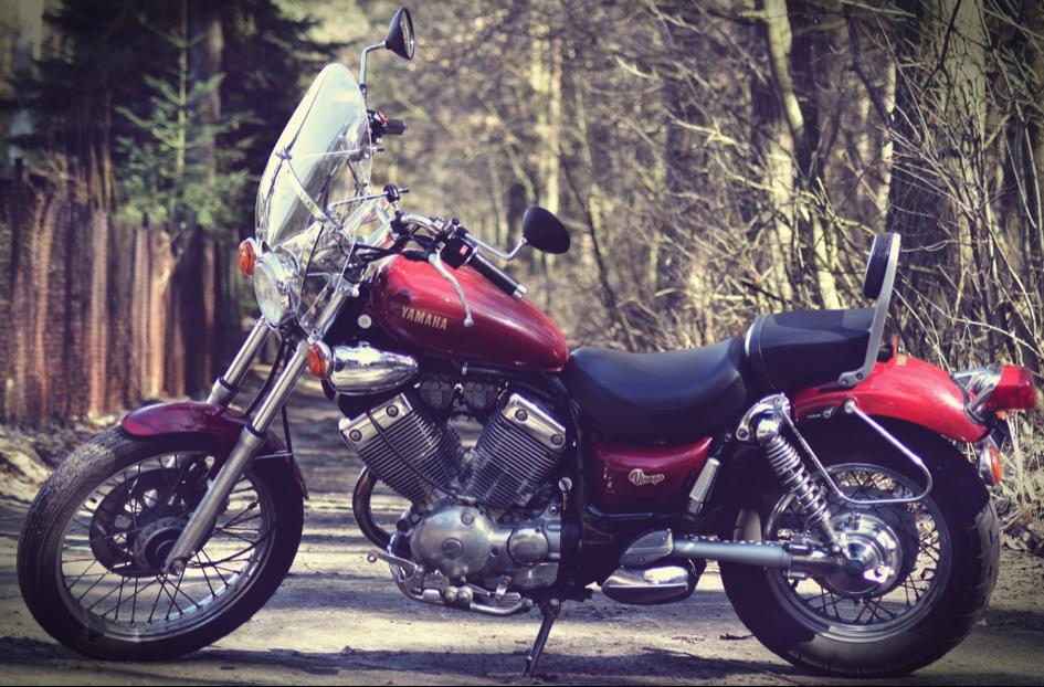 Een motor voor een motorhotel