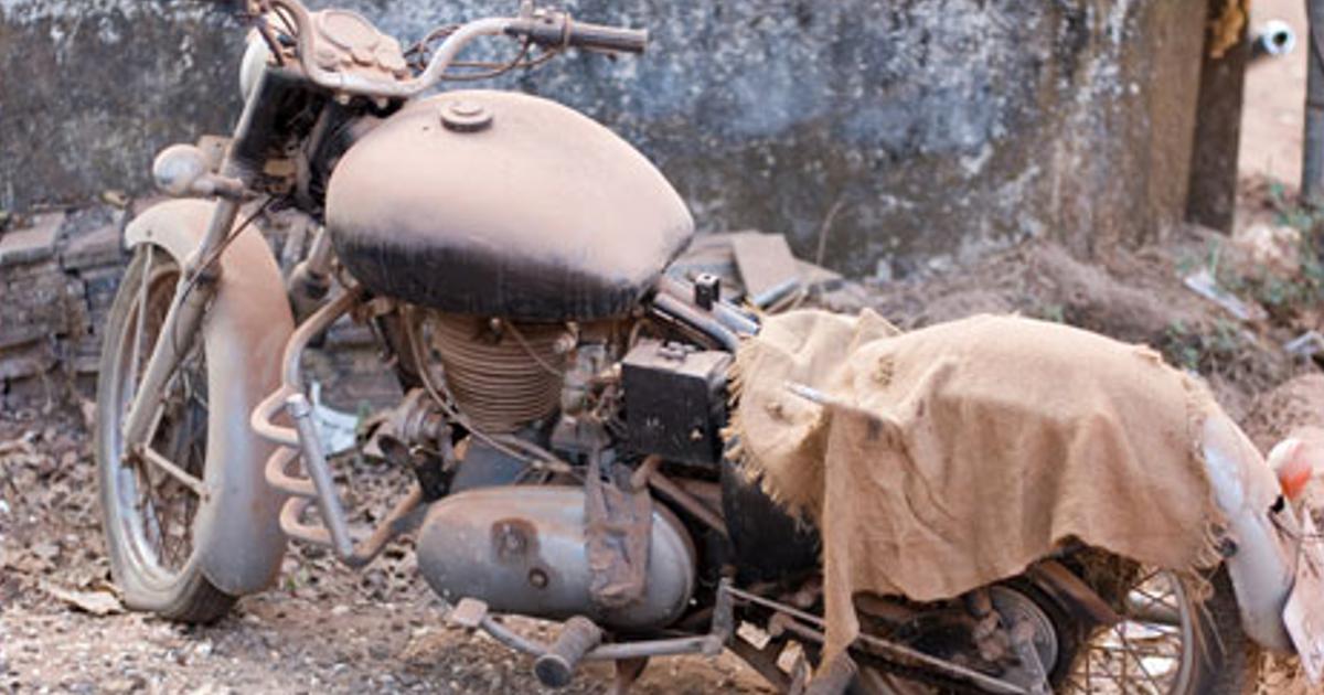 Waarom het slecht is voor je motor als je weinig rijdt