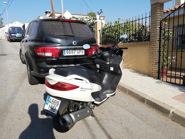 2003 SUZUKI Burgman 125 moto en alquiler (2)