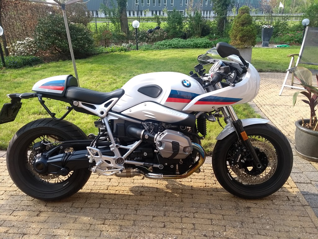 BMW R nineT Racer motor #1