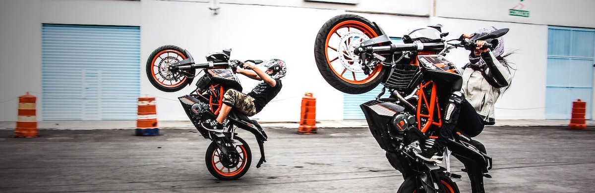 Motor wheelie: Motor evenementen in Nederland