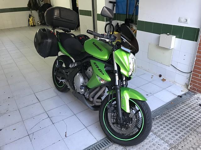 2008 KAWASAKI ER-6N moto en alquiler (1)