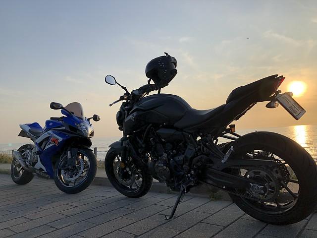 2019 Yamaha MT 07 motor te huur (1)