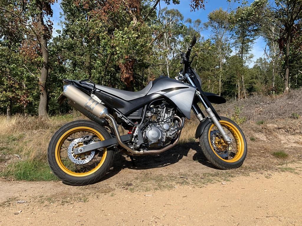 2004 YAMAHA XT 660 X motor te huur (1)