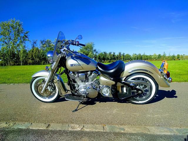 2002 Yamaha Wildstar 1600 motor te huur (2)