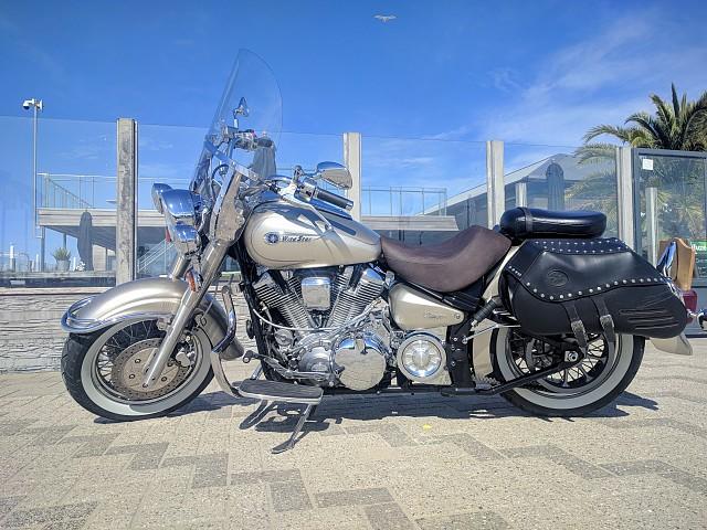 2002 Yamaha Wildstar 1600 motor te huur (3)