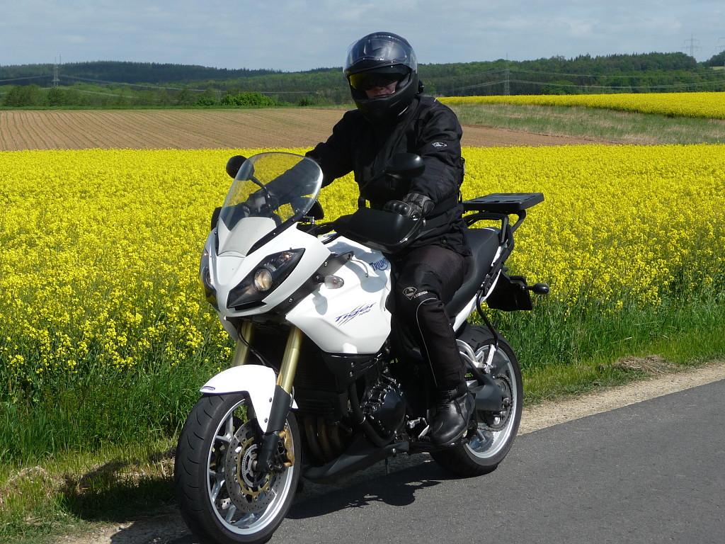 2010 TRIUMPH Tiger 1050 moto en alquiler (1)