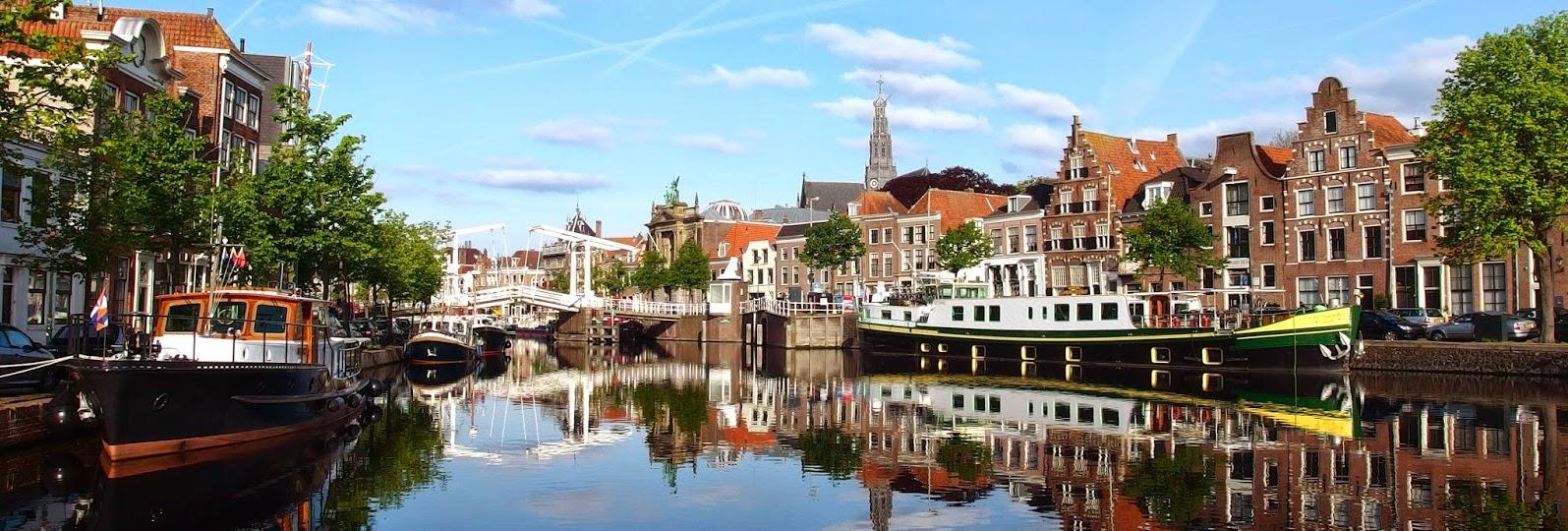 Huizen aan water: Haarlem Route met de motor