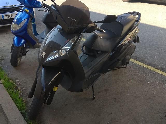 2007 PEUGEOT Geopolis 125 RS moto en alquiler (1)