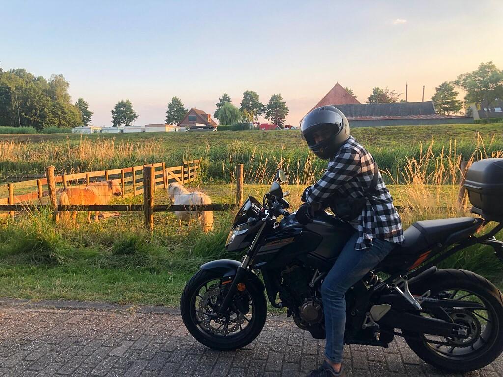 2018 HONDA CB 650 F motor te huur (1)