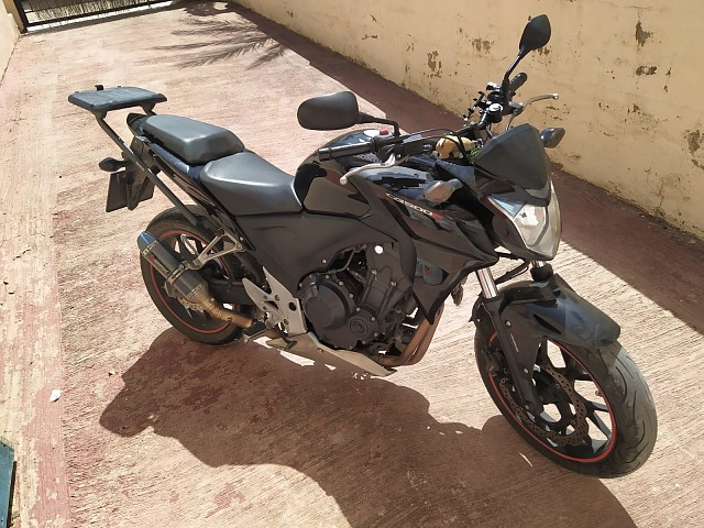 2015 HONDA CB 500 F moto en alquiler (2)