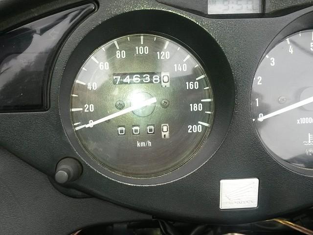 1998 HONDA Deauville motor te huur (3)