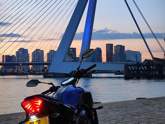 2020 Yamaha MT 07 motor te huur (3)