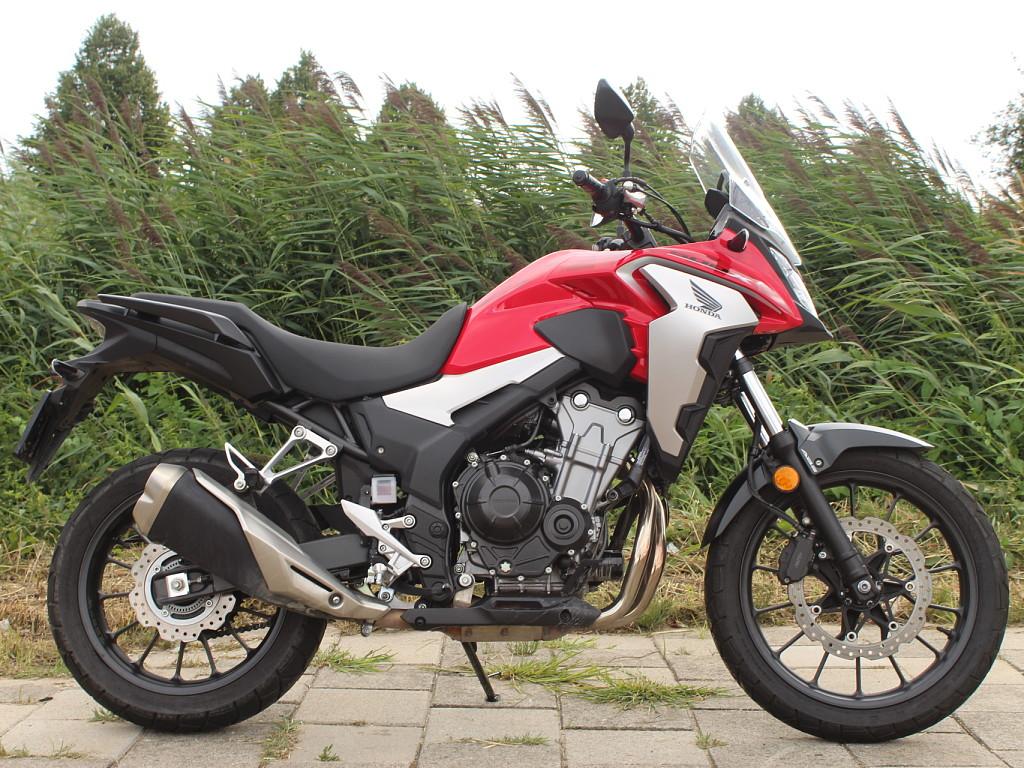 2019 HONDA CB 500 X motor te huur (1)