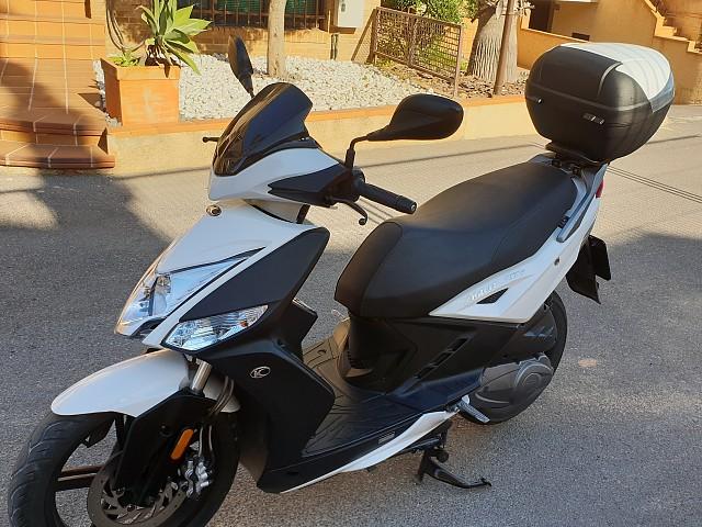 2019 KYMCO Agility City 125 moto en alquiler (3)