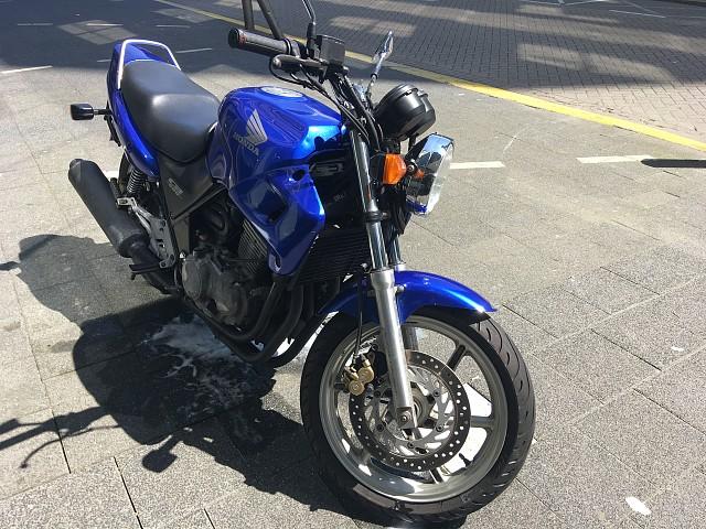 2002 Honda CB 500 motor te huur (2)
