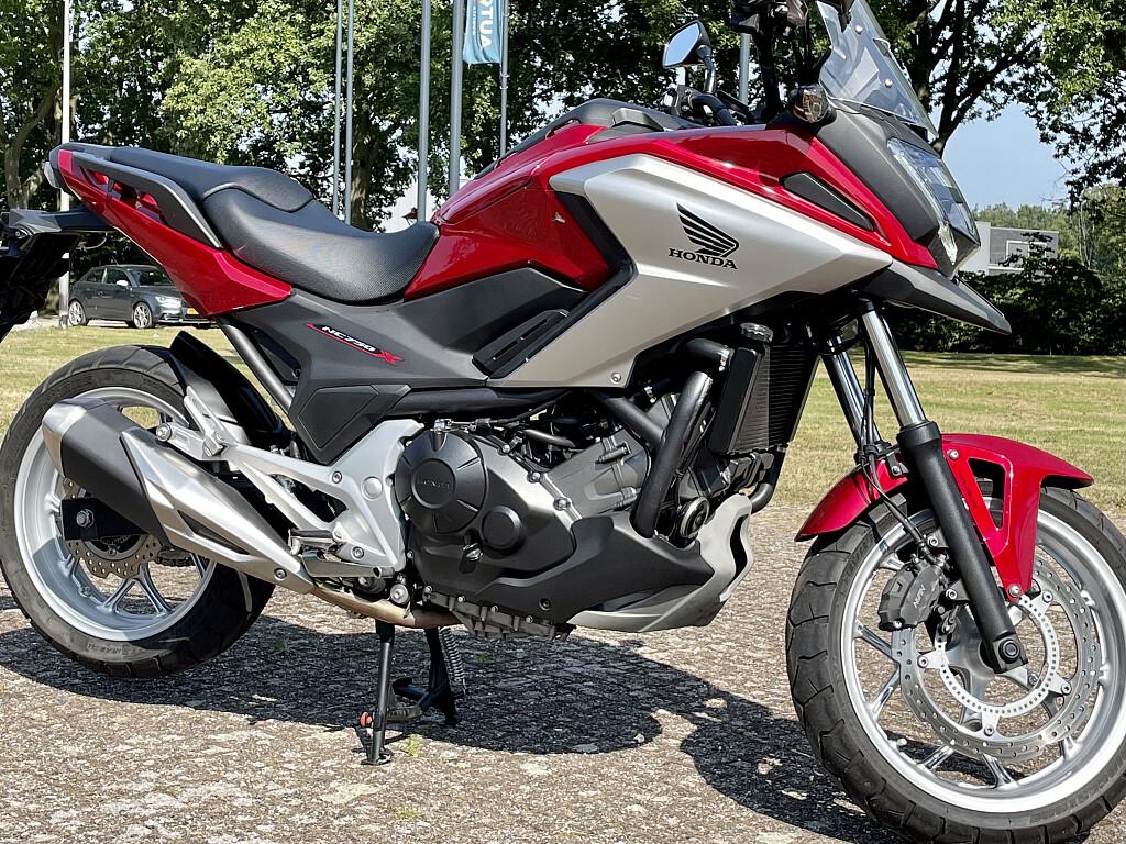 2016 Honda NC 750 X motor te huur (1)