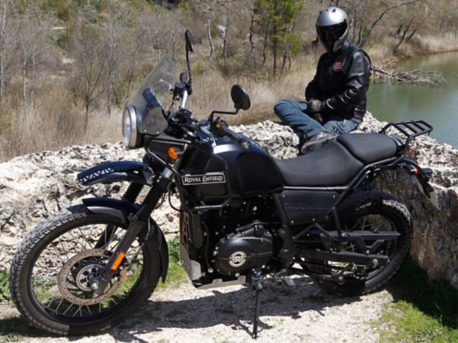 2018 Royal Enfield Himalayan moto en alquiler (1)