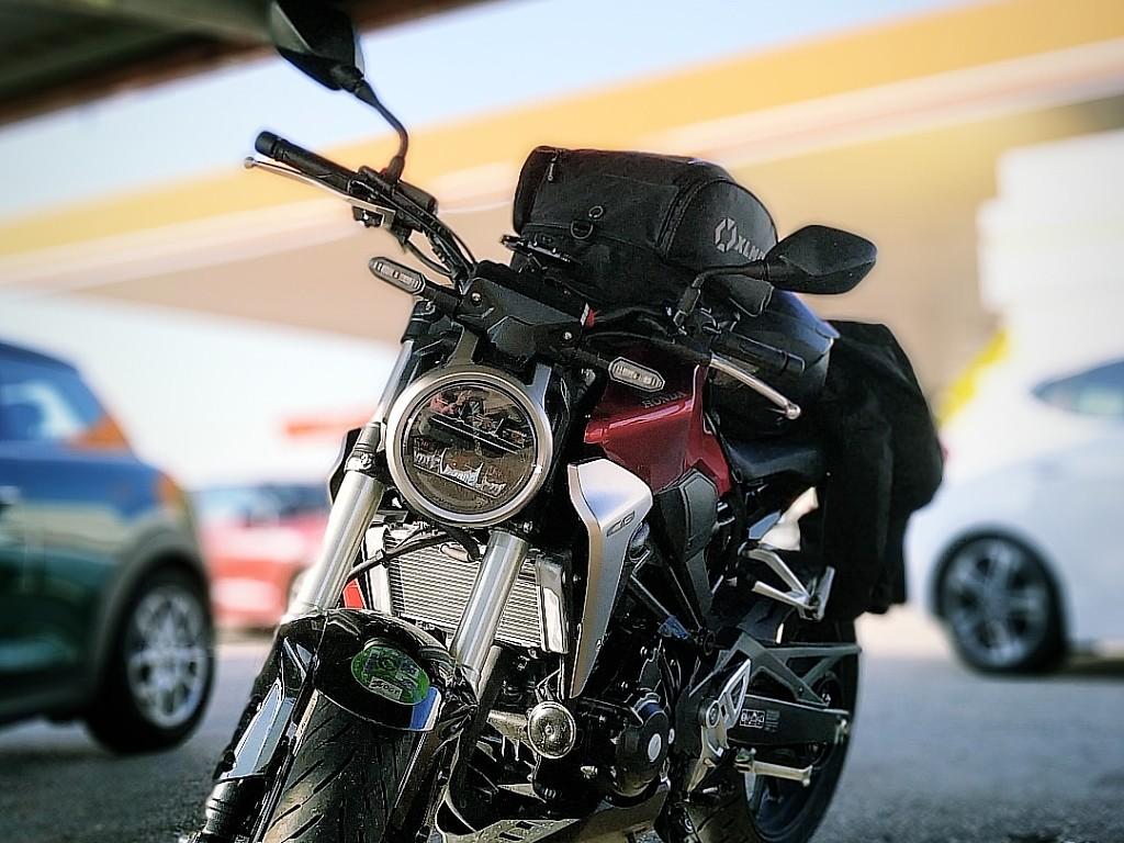 2018 HONDA CB 300 R moto en alquiler (1)