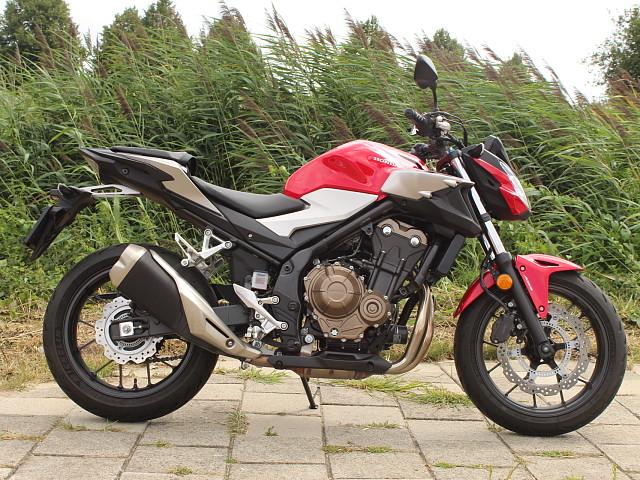 2019 Honda CB 500 F motor te huur (1)