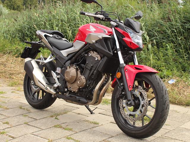 2019 Honda CB 500 F motor te huur (2)
