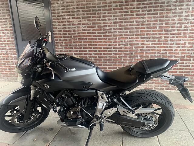 2016 Yamaha MT 07 motor te huur (4)