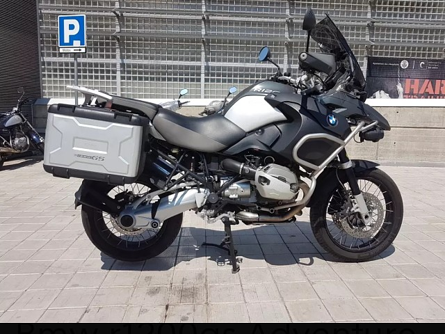 2011 BMW R 1200 GS Adventure moto en alquiler (3)