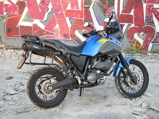 2009 YAMAHA XT 660 Z motor te huur (4)