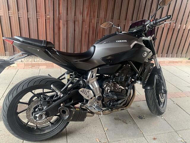 2016 Yamaha MT 07 motor te huur (3)
