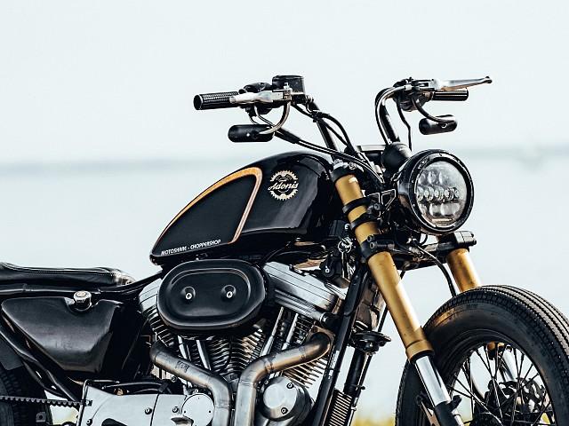 1998 Harley-Davidson 883 Sportster motor te huur (3)