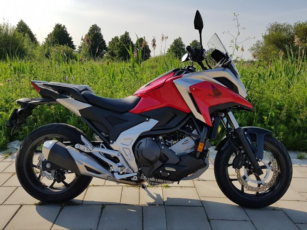 2021 Honda NC 750 X DCT motor te huur (1)