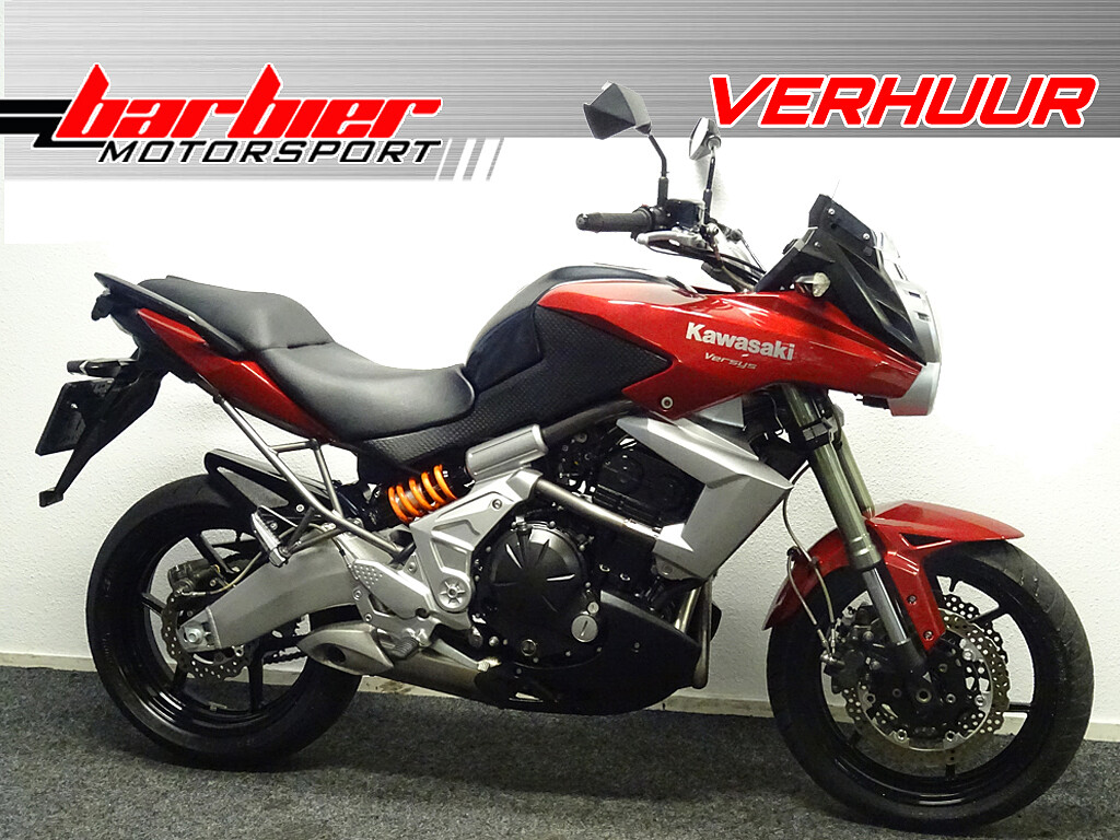 2011 Kawasaki Versys 650 motor te huur (1)