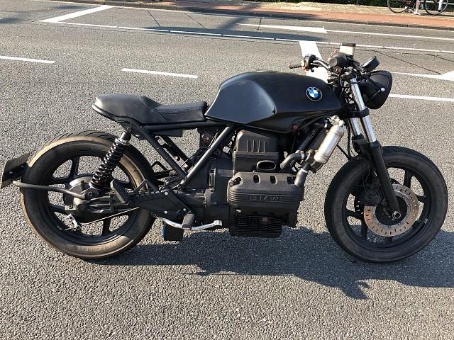 1987 BMW K 75 motor te huur (2)