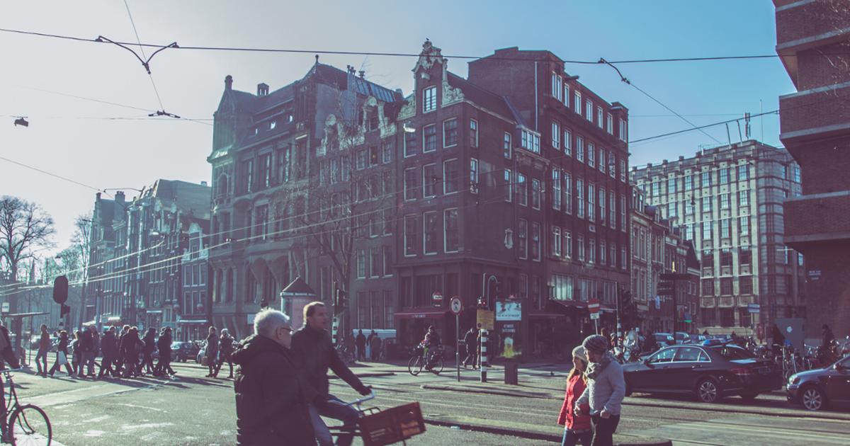 Amsterdam motorrijden