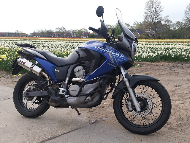 2008 HONDA Transalp XL 700 moto en alquiler (1)