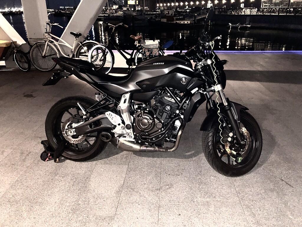 2016 Yamaha MT 07 motor te huur (1)